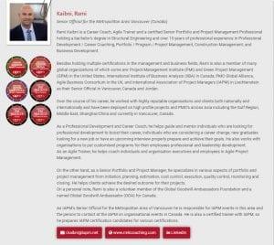 IAPM Senior Official News