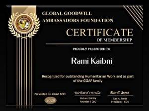 GGA Certificate
