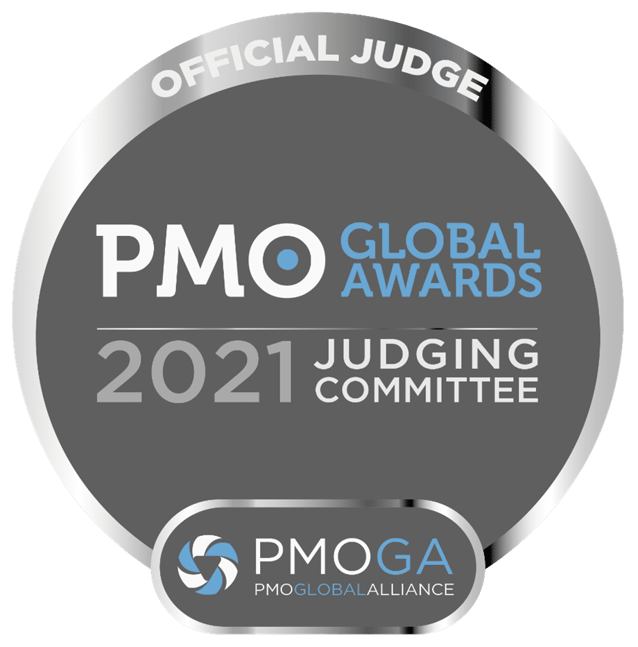 2021 PMO Awards Judge