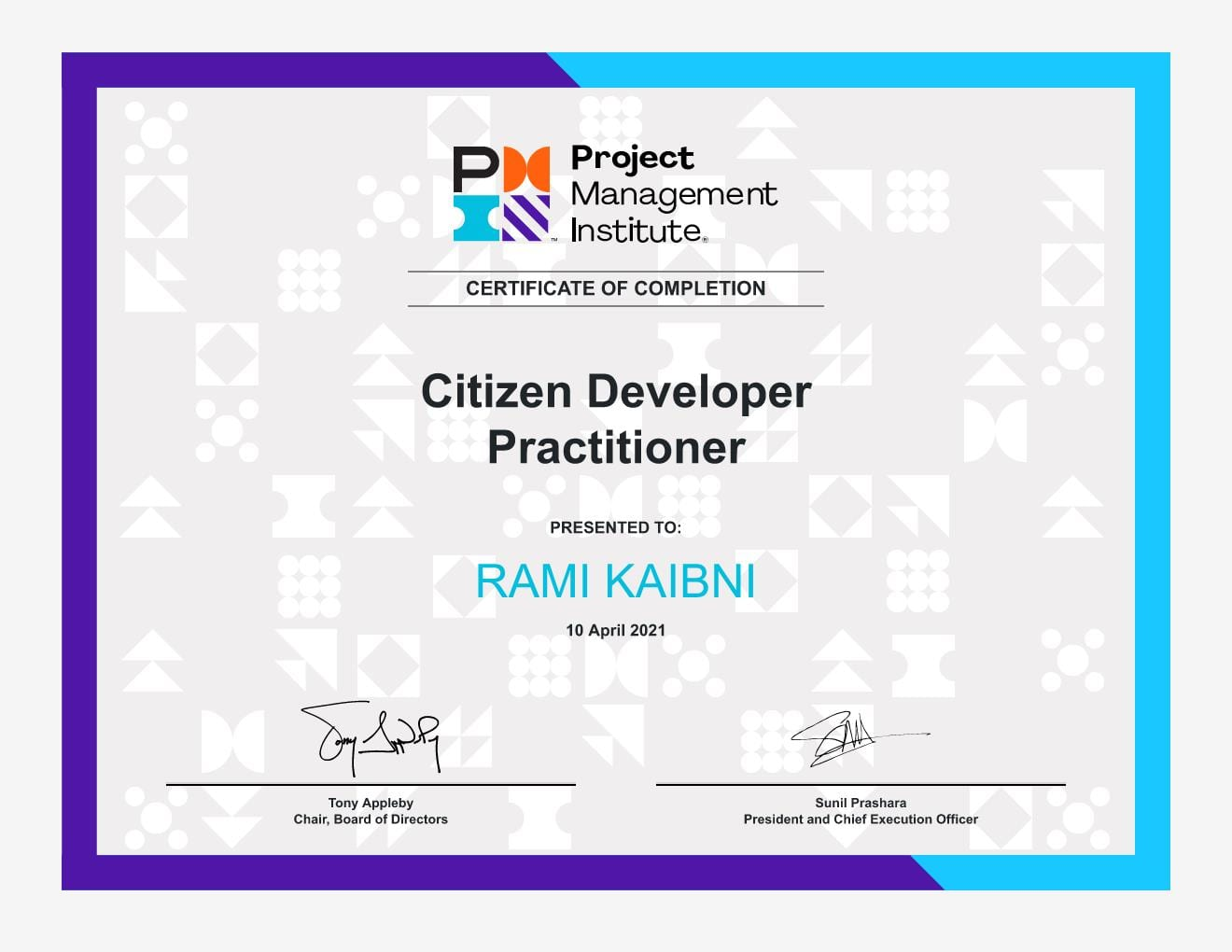 Citizen Developer Practitioner Certificate