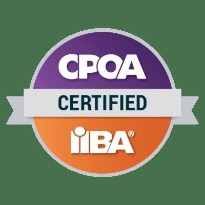 IIBA-CPOA Badge