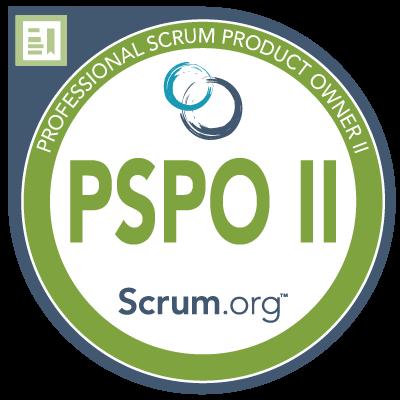 PSPO II Badge