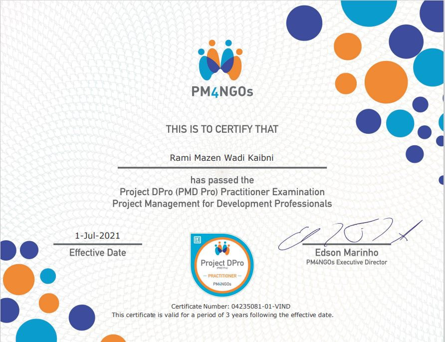 Project DPro Practitioner